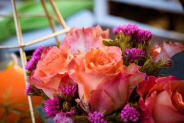 Blue Dragonfly Events - Pretoria Wedding Flowers - Pink Book