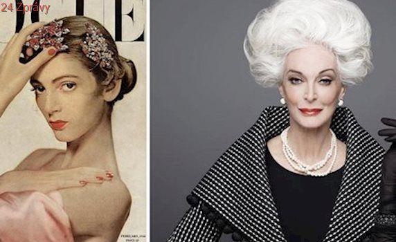 Nejstarší modelka světa Carmen Dell'Orefice: Jaké je její tajemství nestárnoucí krásy?