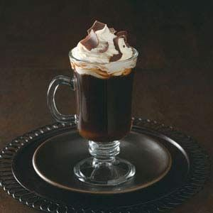 Spanish Coffee Recipe -You'll look forward to dessert even more when this warm and welcoming after-dinner drink is on the menu. —Sharon Tipton, Orlando, Florida