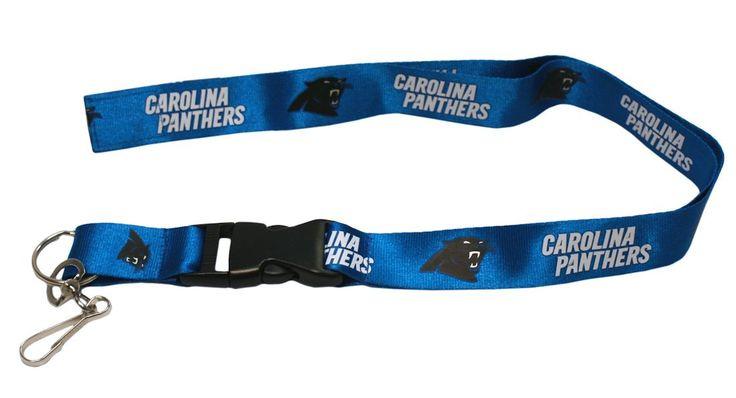 """Carolina Panthers 24"""" Breakaway Lanyard"""