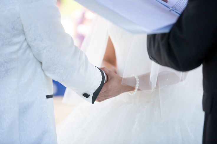 Royal Ambassador wedding ceremony vows