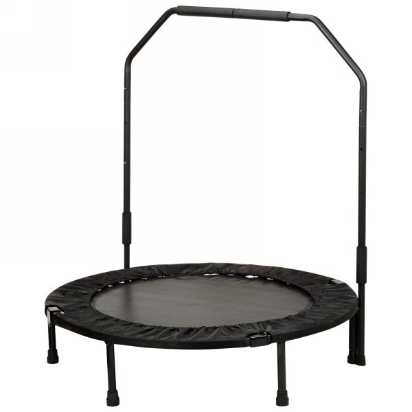 """Sunny Health & Fitness No. 023B 40"""" Foldable Trampoline With Stabilizing Bar"""