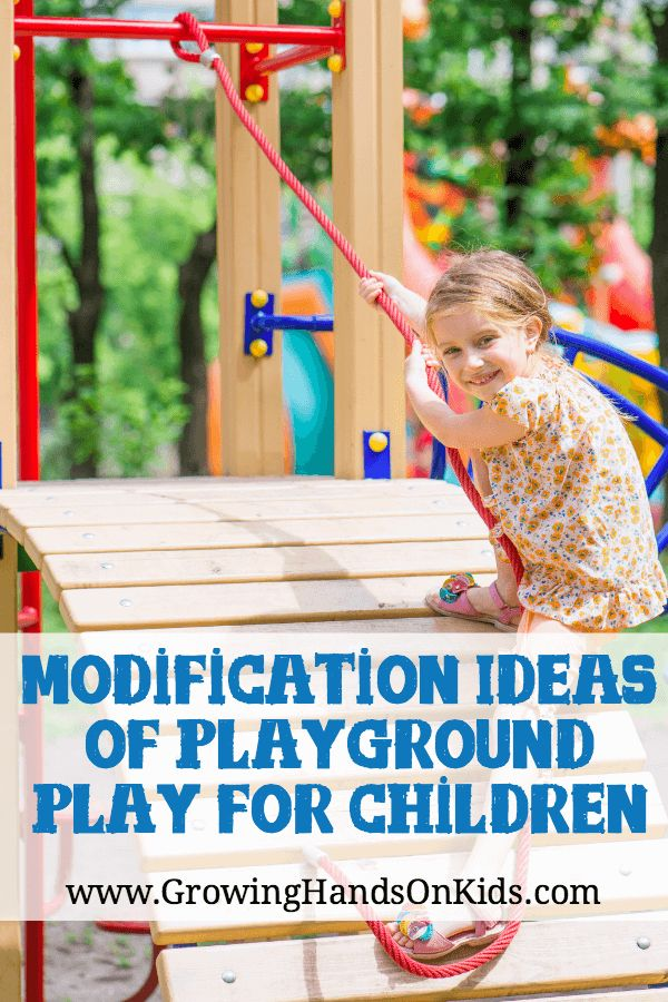 Things to Keep in Mind for Modifications of Playgrounds to meet children's emotional cognitive and physical growth