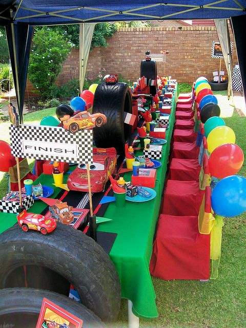 """Cars 2 Party"" by Treasures and Tiaras Kids Parties, via Flickr"