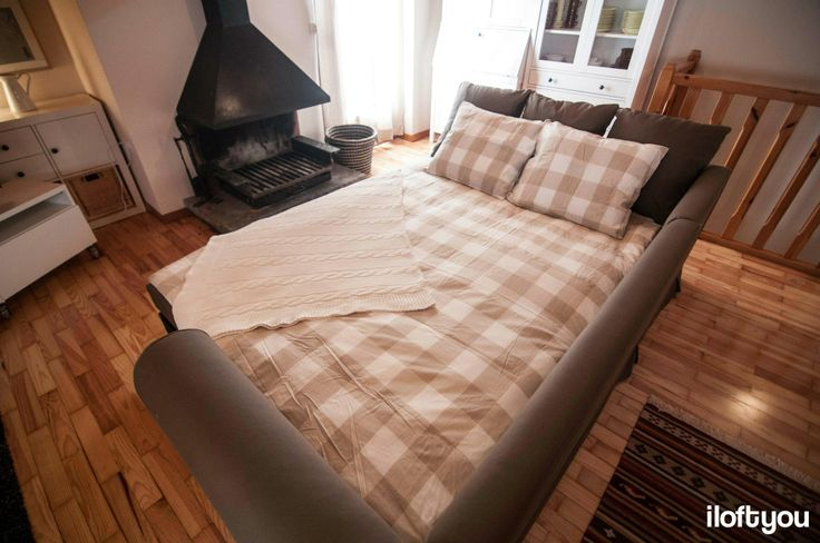sofá-cama salón #proyectollivia - iloftyou