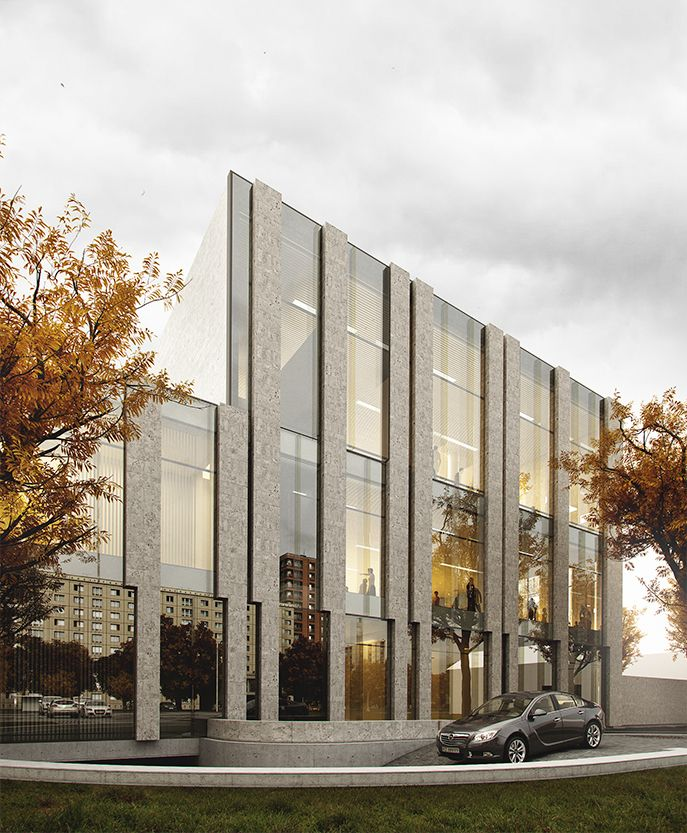 Subcarpathian Library and Science Centre in Rzeszow - VIOX – Wizualizacje Architektoniczne