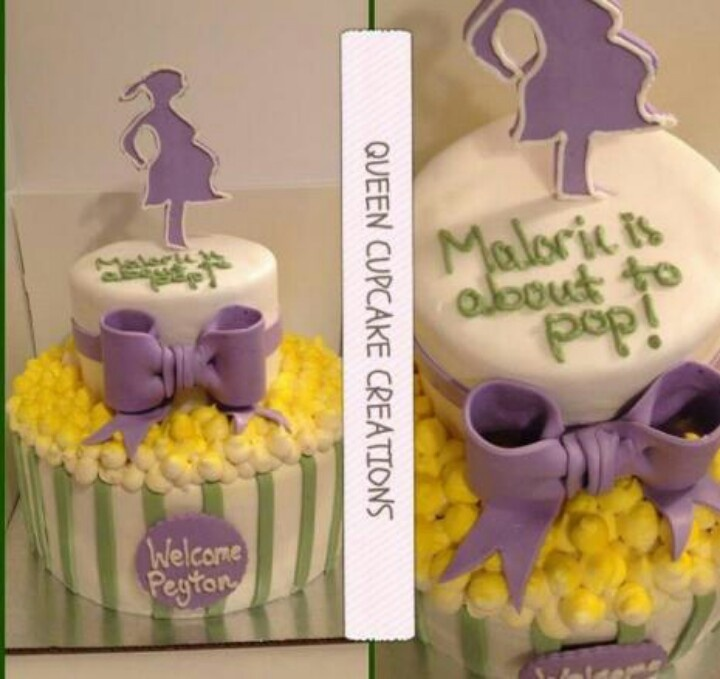 Ideas Shower Cake Looks Erica Shower Ready To Pop Baby Shower Cakes