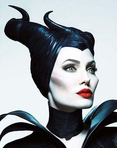 Hands on step-by-step tutorial on how to achieve Maleficent's makeup as worn by Angelina Jolie