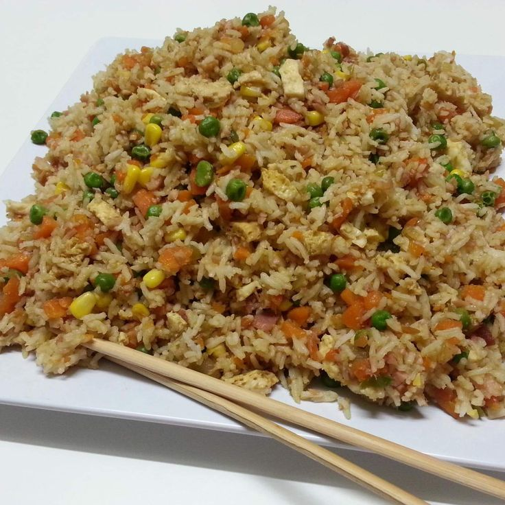 BIG HIT! - we love this one! - Recipe Non-Fried Fried Rice by Witsy - Recipe of category Pasta & rice dishes