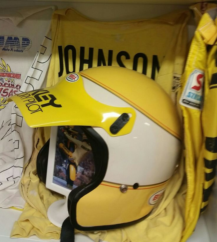Ricky Johnson Yamaha Helmet Replica