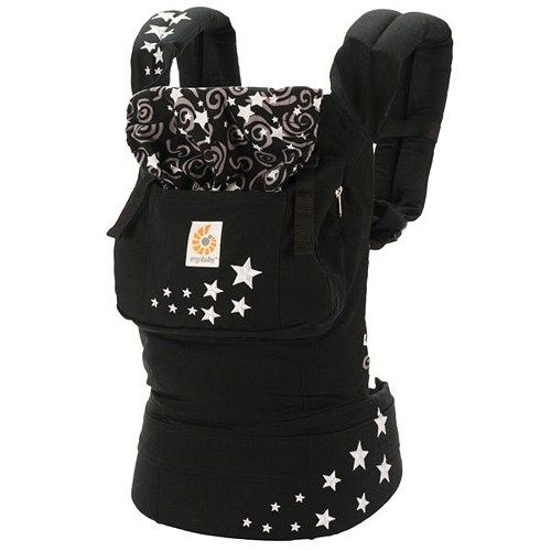 WORLDWIDE FREE SHIPPING  Discount Sale ErgoBaby Organic Night Sky Baby Carrier with Box and Manual  Description Award-winning. Comfortable. Functional. This award-winning design holds your baby in an