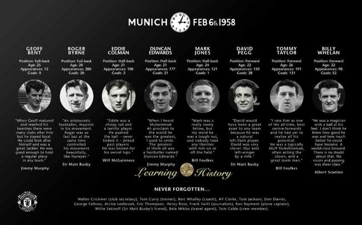 Manchester United: Munich Air Disaster | via @learninghistory