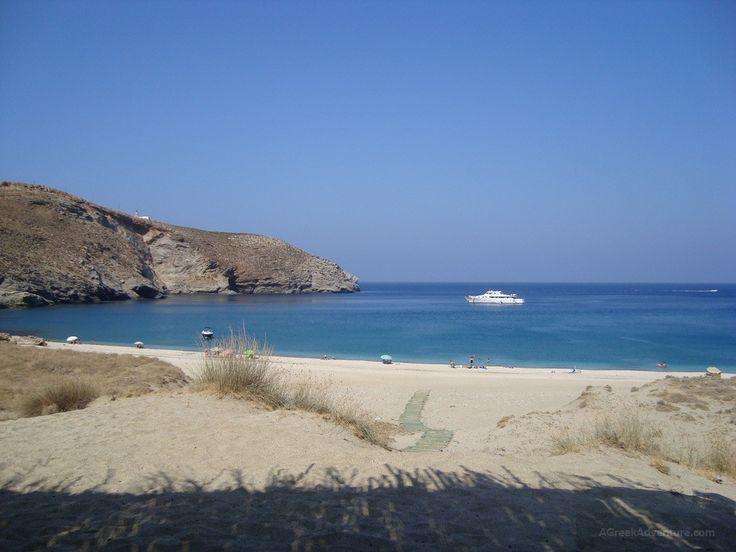 Achla beach Andros Greece