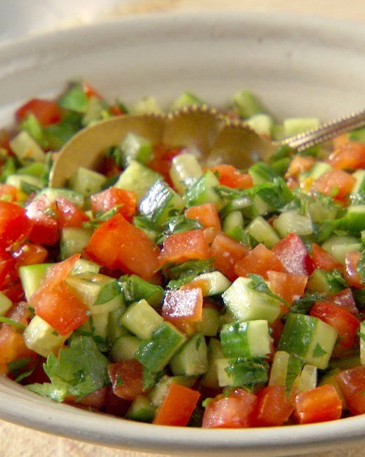 Israeli Salad Recipe | Cooking | How To | Martha Stewart Recipes