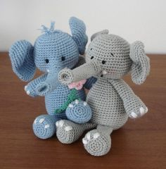Crochet Patterns Jungle Animals : ha?kovan? slon amigurumi Pinterest Produkter