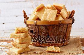 Фото Песочное печенье с манкой