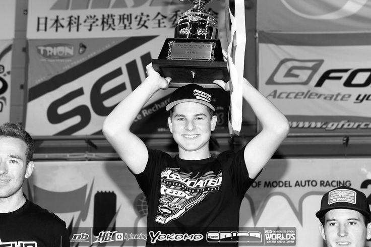 Spencer RIVKIN (USA)  2015 IFMAR EB 1:10 2WD  WORLD CHAMPION (@ age 16)