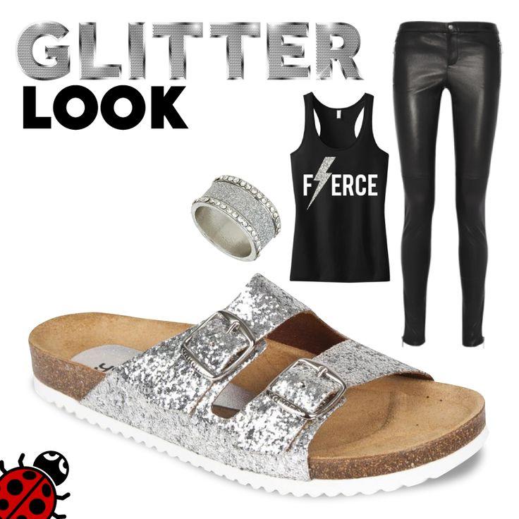#Verano #LookCañero #Zapatos #Yokono #Moda #MadeInSpain #Ropa #Cómodo #Negro #Plata