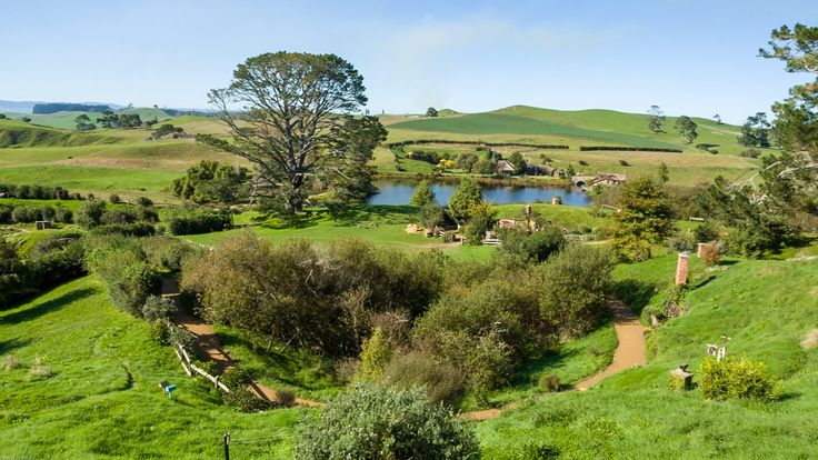 Visit The Hobbit Lord of The Rings Movie Set Matamata, from Auckland