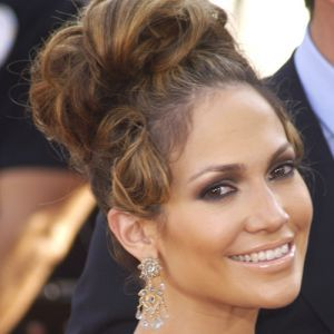 Coafura par lung. Coc Jennifer Lopez