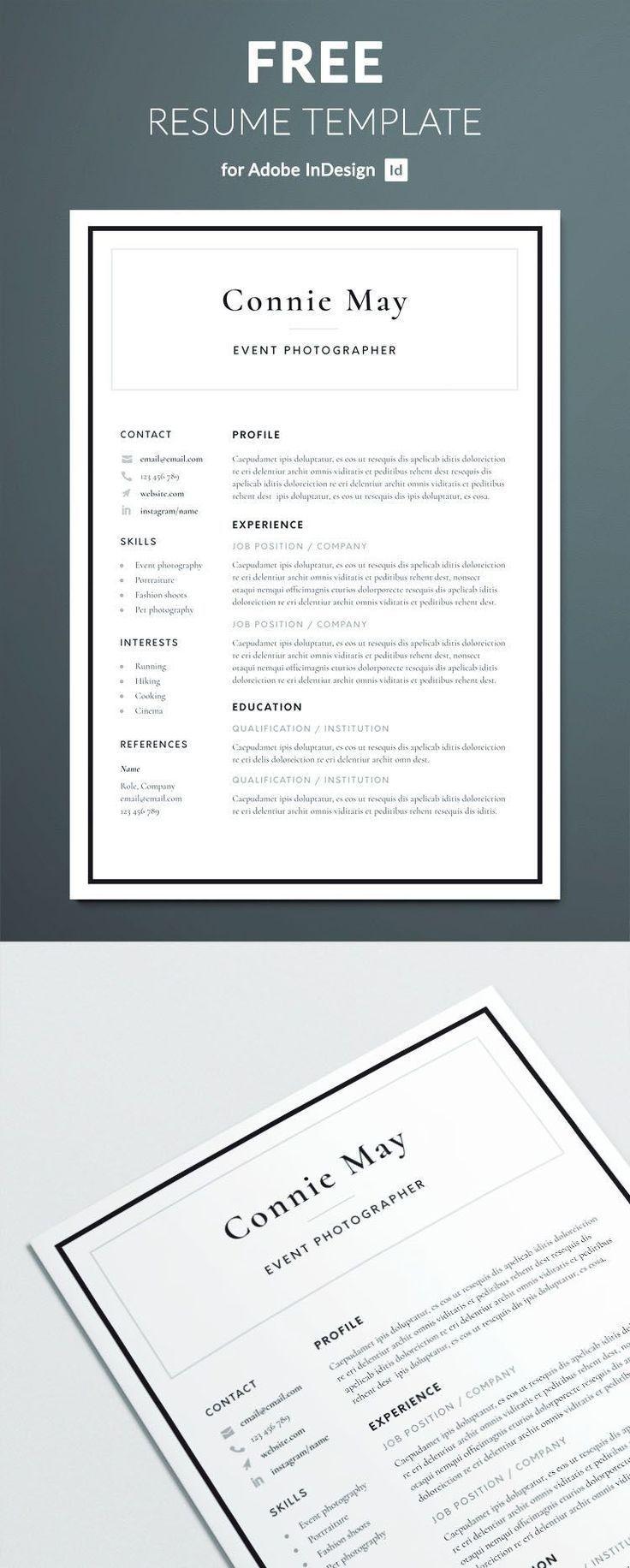 Resume Design Template Free Simple Resume Template Resume Design Free R Resume Design Template Free Free Resume Template Download Resume Template Free Indesign resume template free download