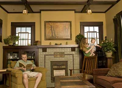 25 Best Ideas About Craftsman Fireplace On Pinterest