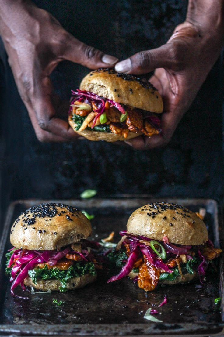 (Gates) BBQ Tempeh Sandwiches