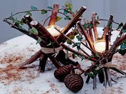 Resultado de imagen para centros de mesa navideños