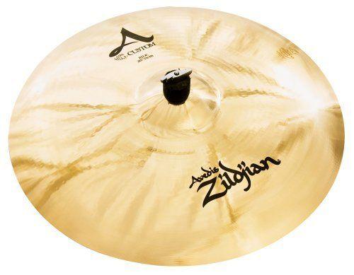 Zildjian A Custom 20-Inch Ride Cymbal Brilliant by Zildjian. $299.95. Medium Weight, Brilliant Finish. Save 42% Off!