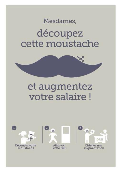 Si au boulot le port de la moustache pour ces dames semble payer, en amour mieux vaut s'épiler. Sur Job Me Tender, Mesdames, vous êtes déjà les DRH ! www.jobmetender.fr