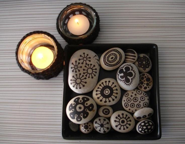 Pintar piedras manualidades pinterest for Ideas para pintar piedras