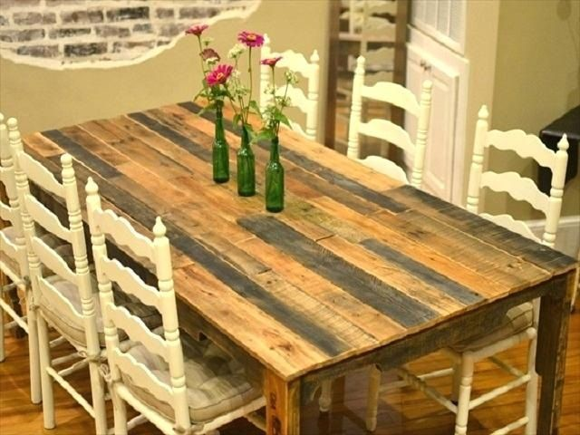 Refurbished Dining Tables (How to Refurbish Dining Room Table)