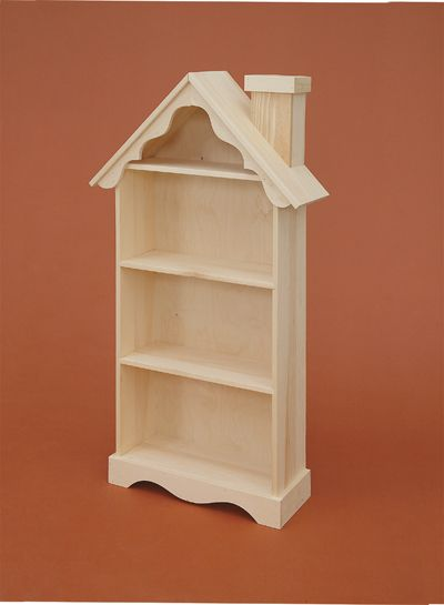 Lam Brotheru0027s Unfinished Furniture  Bookcase That Looks Like A Doll House