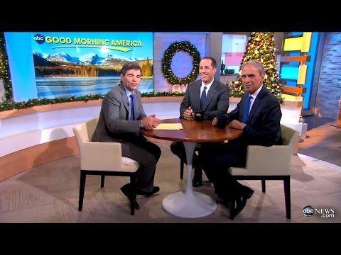 Jerry Seinfeld & George Stephanopoulos talk Transcendental Meditation on Good Morning America - YouTube