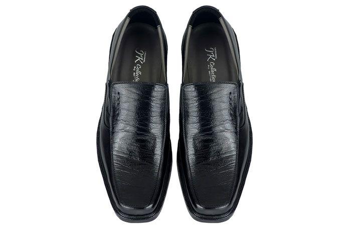 Sepatu Formal Pria Bahan Kulit Warna Hitam Jar 119 Sepatu