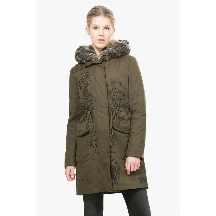 desigual tati manteau vert pas cher prix promo manteau femme brandalley 18995 - Manteau Femme Color