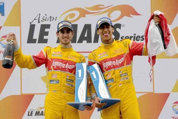 Luar Biasa Sean Gelael & Tim Jagonya Ayam Juara di Asian Le Mans Series Ketiga di Thailand [Olahraga]