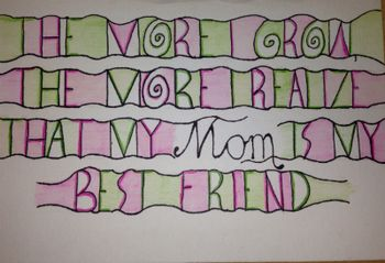 Mom will love the cards students make with this fun project! $