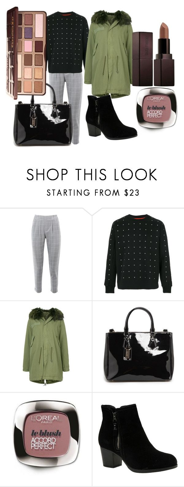 """""""OUTFIT OF THE DAY 26.DEC.18"""" by charo-garcia on Polyvore featuring moda, Nasty Gal, Diesel, Mr & Mrs Italy, MANGO, Skechers, Laura Mercier y Too Faced Cosmetics"""