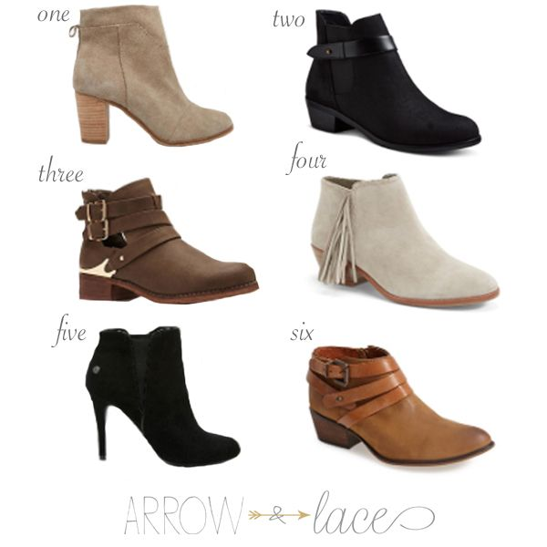 Must Have – Booties this fall/winter