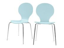 2 X Kitsch Dining Chairs Sea Blue KitschDining ChairsSofasRoom IdeasNantes