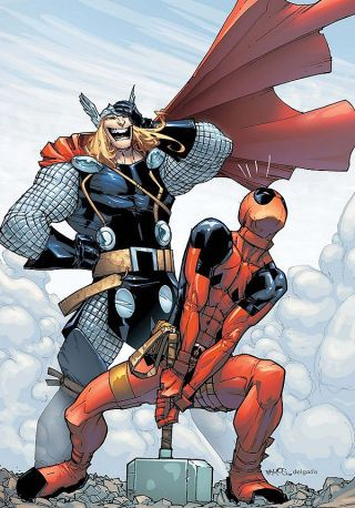 The Worthy: 14 Characters Who Possessed the Power of Thor - Deadpool obviously isn't one of them:)