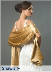 gold prom dress shawl