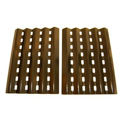 Heavy Duty BBQ Parts 90242 Porcelain Steel Heat Plate for Brinkmann/Charmglow Brand Gas Grills
