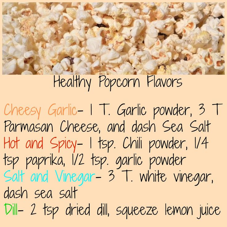 Natural Popcorn Toppings
