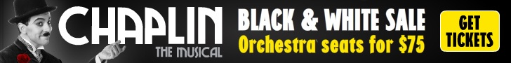 http://chaplinbroadway.com/offers/chapbw/  BLACK & WHITE FRIDAY SALE Orchestra seats as low as $75.00 On performances thru 12/16 Limited time only! GET TICKETS NOW!  CALL 212.947.8844 and mention code CHAPBW or BRING this offer to the Barrymore Theatre Box Office 243 West 47th St