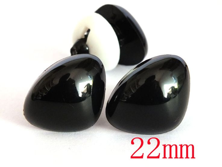 Cheap doll nose, Buy Quality plastic nose directly from China safety nose Suppliers:  Free Shipping!! 20pcs 22mm Black Triangle Safety Noses, Cute Doll Nose ,Plastic nose,Toy Nose (with washer)