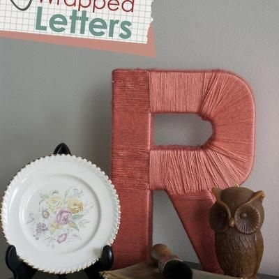 Make your own letters with cardboard and cover them with for How to cover cardboard letters with fabric