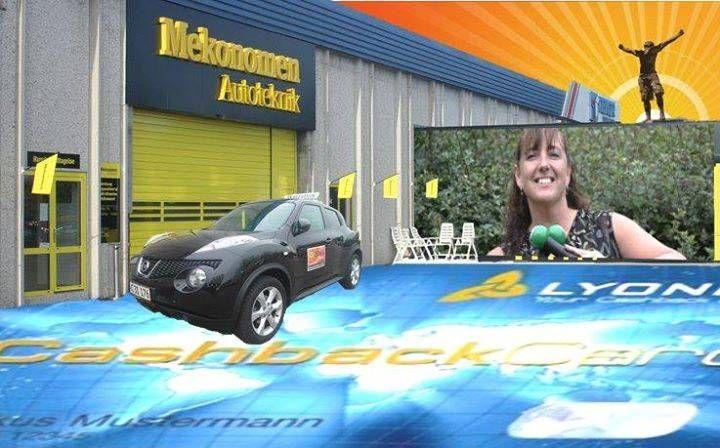 Zitta Mogensen har glæde af sit Lyoness kort hos Mekonomen Autoteknik - ES Motor. www.es-motor.dk/faa-rabat.html
