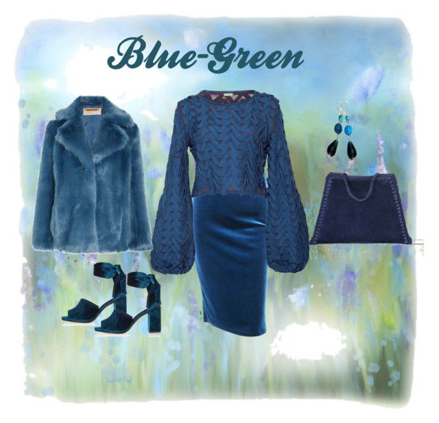 Blue-Green by mariliart on Polyvore featuring Pepa Pombo, MICHAEL Michael Kors, River Island and Gipsy
